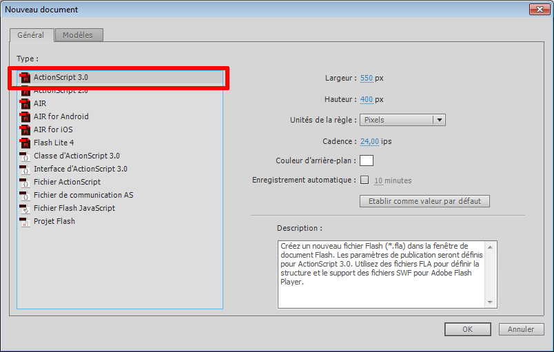 Tutorial: install TweenMax libs ActionScript 3 with Flash