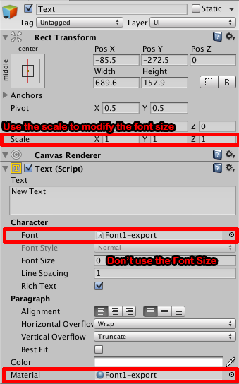 Tutorial][Unity] Generate and import a bitmap font with a