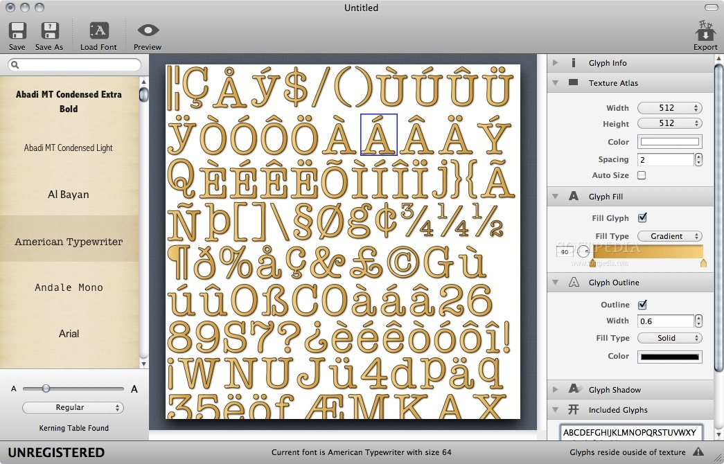 Tutorial][Unity] Generate and import a bitmap font with a free tool